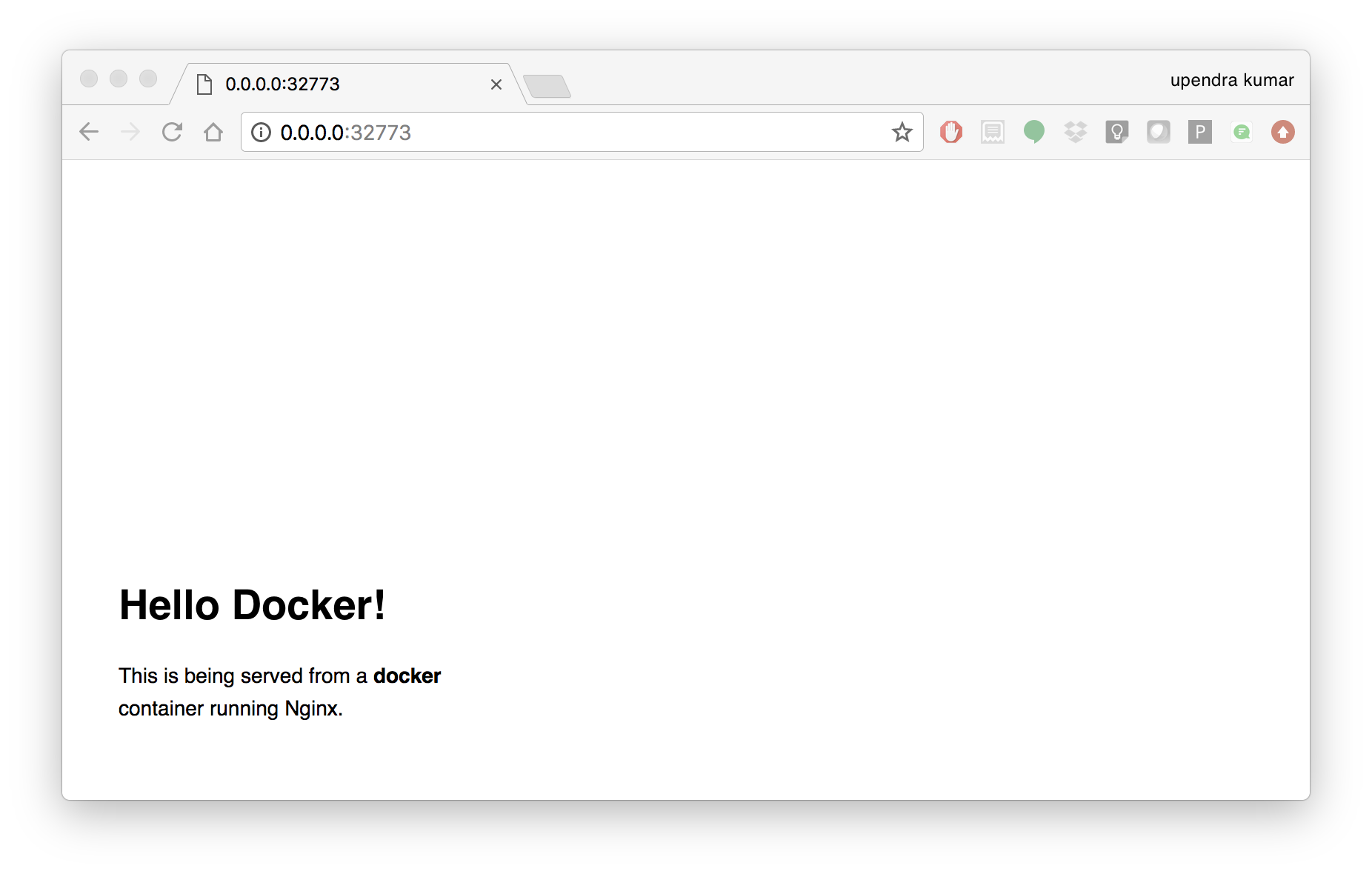 Introduction to Docker — CyVerse Container Camp: Container